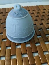 Lladro 1993 Porcelain Christmas Bell Ornament - #16010 Capanita Navidad