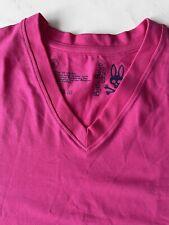 Psycho Bunny V-Neck Cotton Blend Undershirt T-Shirt Size L Pink