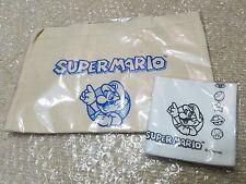 Super Mario Tote / eco bag with cleaning cloth Yamada Denki Nintendo