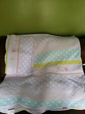 Girls Butterfly Full Size/queen Quilt w/ 2 pillowcases