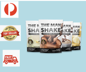 The Man Shake 840g + AUSLEAN MealReplacement WeightLoss Shake BUY 2 SAVE MORE #1