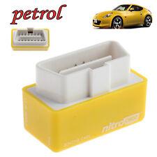 Car OBD2 Chip Tuning Box Interface For Gas Petrol Vehicles Plug & Drive Nitro US