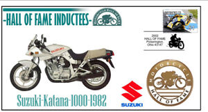 SUZUKI MOTORCYCLE HALL OF FAME COV, 1982 KATANA 1000