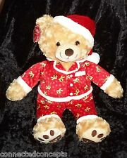 2014 Pajama Belkie the Holiday Teddy Bear from Belk Department Store NEW!