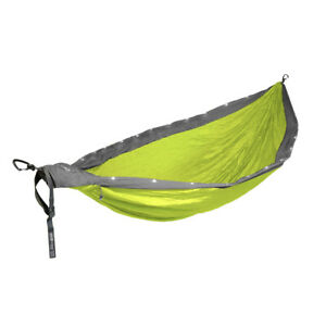 Mothers Day Gift DoubleNest 2 person Light Up LED hammock 400lb Camp Hiking New