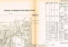 Akkord Auto-Tourist 725-6000   Manual Schaltplan ORIGINAL ca 1964