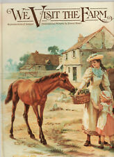 WE VISIT THE FARM  - ERNEST NISTER reproduction pop up picture book