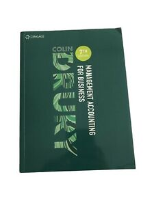 Management Accounting For Business 7th Edition Colin Drury
