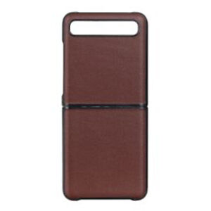 For Samsung Galaxy Z Flip Protective Cases Leather Back Battery Cover Phone Case