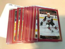 2017-18 OPC O-Pee-Chee GLOSSY ROOKIES RED card u pick /finish /complete your set