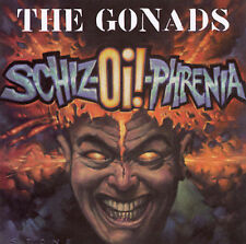 "Gonads ""Schiz-Oi!-Phrenia"" cd OOP NEAR MINT"