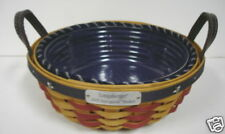 Longaberger 2005 Inaugural Basket, Liner, & Protector Set ~ Brand New in package
