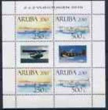 ARUBA  2010  vliegtuigen  V438-439  velletje luxe postfris /mnh