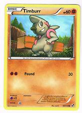 Timburr HP60 Pokemon Basic Yellow Card Muscular 532 2011 POUND 30 NM - MINT Card