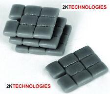 EFE 99616 - 4 Blocks of 8 Cement Sacks Grey Plastic 00 Gauge = 1/76th Scale 1stP