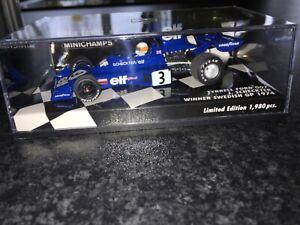 Minichamps 1/43 Tyrrell Ford 007 Scheckter 1974 F1