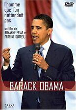 """DVD """"BARACK OBAMA - L'HOMME QUE L'ON N'ATTENDAIT PAS"""""""