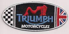 Triumph Motorcycles exotic dancer patch. 4 inch Bonneville America Speedmaster