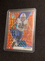 2020 Panini Mosaic Zack Moss Reactive Orange Parallel Prizm Rookie Card RC #231