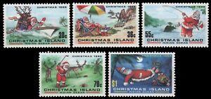 Weihnachtsinsel 1986 - Mi-Nr. 226-230 ** - MNH - Weihnachten / X-mas