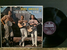 KINGSTON TRIO  Stay Awhile  L.P.    UK STEREO original   NEAR-MINT !