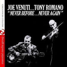 Joe Venuti, Joe Venu - Never Before Never Again [New CD] Manufact