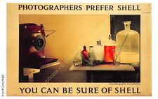 Post Card PUBLICITE ADS SHELL OIL n68 ILLUSTRATION CURTIS MOFFAT