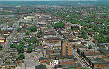 Aerial View Looking West SAULT STE. MARIE Ontario Canada Postcard