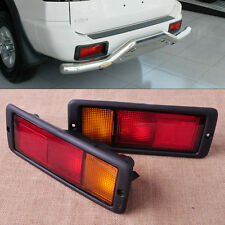 2x New Left Right Rear Tail Bumper Light Lamp Fit For Mitsubishi Pajero Montero