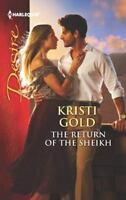 Return of the Sheikh by Gold, Kristi