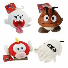 4X New Super Mario Nintendo Goomba/ Boo Ghost/ pukupuku/ Cheepap Plush Dolls