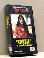 """""""CARRIE"""" Lo sguardo di Satana (vhs, IL GRANDE CINEMA DEL TERRORE)"""