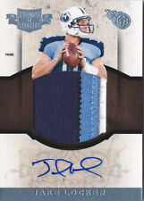 2011 Plates and Patches RC Auto Jumbo Patch Prime #15 Jake Locker #/25