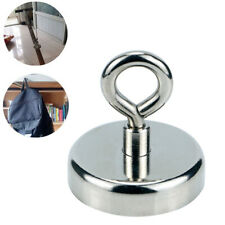 Magnet Super Strong Round Powerful Force Neodymium River Fishing Eyebolt Durable