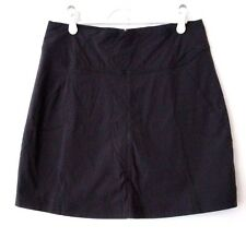 Royal Robbins Size 4 Discovery Skort Black Casual Skirt Shorts Tennis Athletic