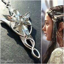 Lord of the Rings Arwen Evenstar Necklace Pendant LOTR Hobbit UK Seller