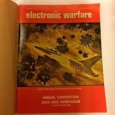Association of Old Crows AOC Electronic Warfare DOD 1969 Convention