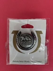 2021 Kentucky Derby  OFFICIAL LICENCE  PIN  Unopened  MEDINA SPIRIT Mandaulon