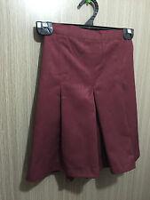 BNWT Girls Maroon Midford Brand Sz 6 School Uniform Skort Style Culottes