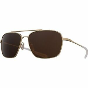 Costa Canaveral 580G Polarized Sunglasses Shiny Gold Frame/Copper One Size
