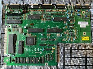 Commodore AMIGA 500 Plus Motherboard REV 8A 8375 Agnus Super Denise PAL Working