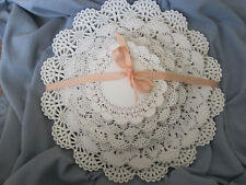 """100 pc 💜 White Paper Lace Doily Round Variety Pk 20 ea 4"""" 5"""" 6"""" 8"""" 10"""" CLASSIC"""