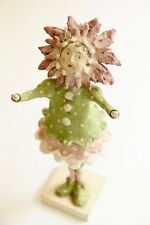 Joanna Bolton Papier Mache One of A Kind Collectable Flower Girl Figure