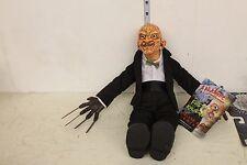 Mezco Freddy Krueger in suit Plush Figure LOOSE