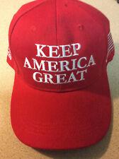 TRUMP HAT 2020 RED, KEEP AMERICA GREAT