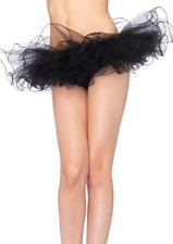Sexy Tutu Nero Tulle Danza Ballerina Micro Mini Gonna Dancer Clubwear Leg Avenue