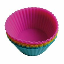 Eddingtons Mini Silicone Muffin/Cupcake Cups Set of 24 - Assorted Colours