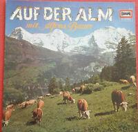 Alfons Bauer / Auf der Alm mit Alfons Bauer LP Vinyl Europa E 143