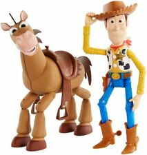 "Disney Pixar Toy Story 4 7"" Woody & Bullseye Figures"