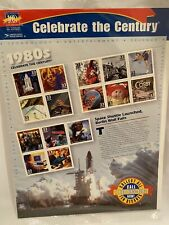 #3190 Celebrate The Century 1980's Stamps Berlin Wall, Et, 49ers, Cats, Hip Hop